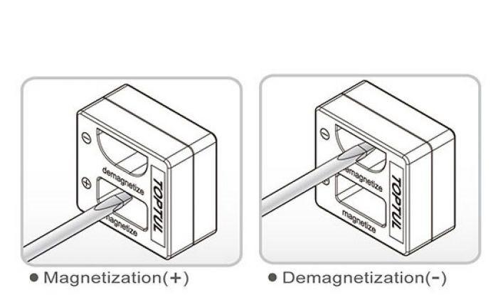 TOPTUL - Магнитeзатор и демагнитeзатор