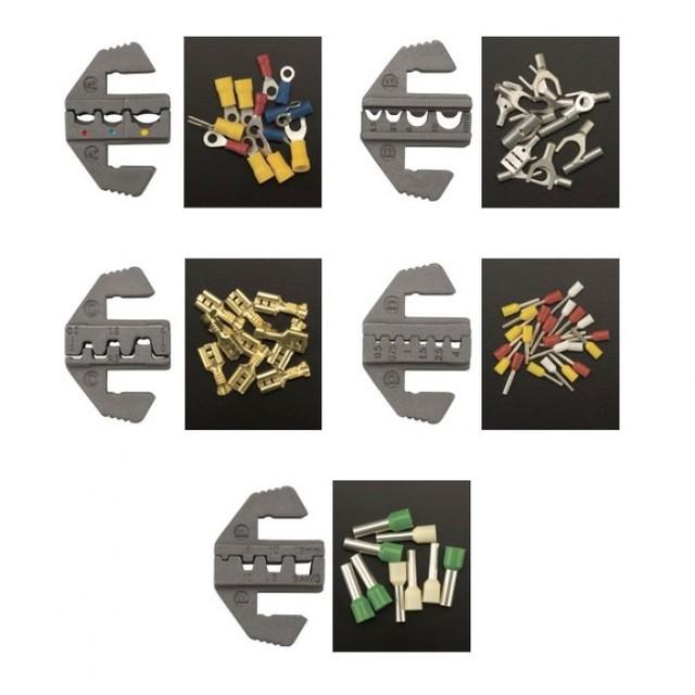 TOPTUL - Комплект клещи за кабелни обувки с накрайници
