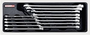 TOPTUL - Комплект звездогаечни ключове, усилени 8-24 mm