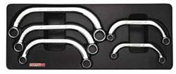 TOPTUL - Комплект звездогаечни ключове полумесец ,10-22 mm