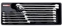 TOPTUL - Комплект звездогаечни ключове, усилени, 13 бр.