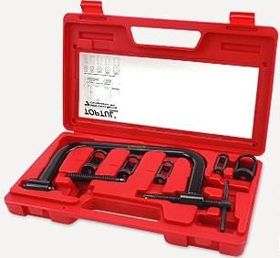 TOPTUL - Комплект за демонтаж / монтаж на пружини на клапани