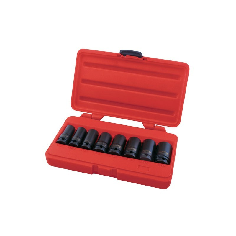 TOPTUL - Комплект вложки за демонтаж на болтове на джанти