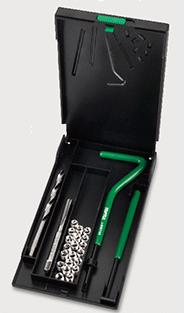TOPTUL - Комплект за възстановяване на резби 5 х 0.80 mm