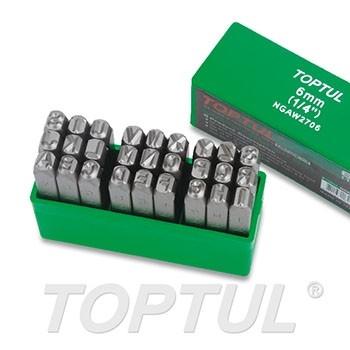 TOPTUL - Комплект букви за маркиране