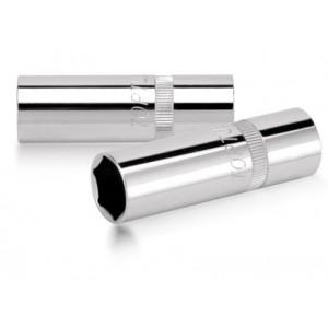 """TOPTUL - Вложка за свещи 16 mm, 1/2"""", тънкостенна с магнит"""