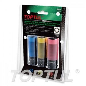 TOPTUL - Комплект вложки за джанти, супер усилени 17, 19, 21mm
