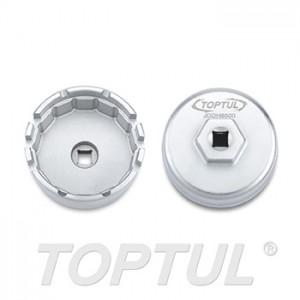 TOPTUL - Ключ за маслени филтри 64.5 mm, 14 страни