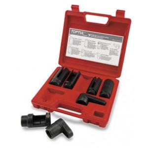 TOPTUL - Комплект монтаж / демонтаж на кислородни датчици, за налягане на маслото и др.