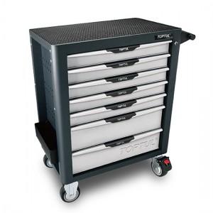 TOPTUL - Инструментална количка, 7 отделения, професионална
