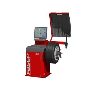 V555.A - Автоматична машина за баланс на автомобилни гуми