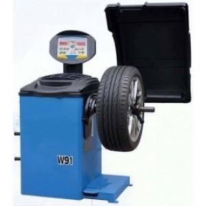 W91 - Aвтоматична машина за баланс на автомобилни гуми