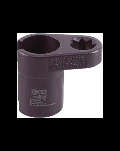 BGS - Вложка за ламбда сонди, Г- образна 22 mm