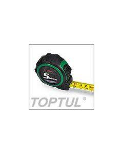 """TOPTUL - Измервателна  ролетка 5m/16ft, 3/4"""" (19mm)"""