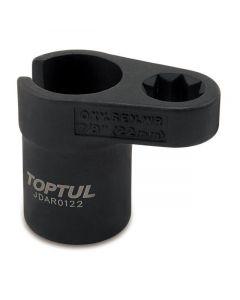 """TOPTUL - Вложка за кислородни датчици 1/2"""", 22 mm"""