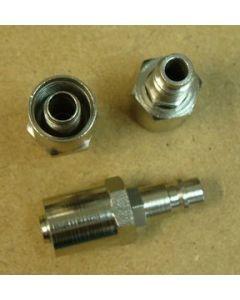 BX12D/B8 - Бърза връзка адаптер за маркуч 10 х 17 mm