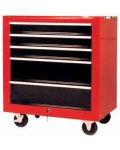 TBR2005 - Инструментална количка, 5 отделения, празна
