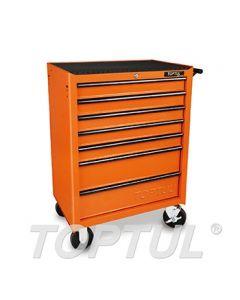TOPTUL - Инструментална количка, 7 отделения, празна